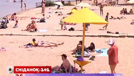 В Украине купальный сезон открылся только на каждом пятом пляже