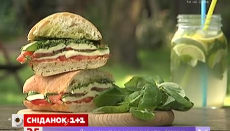 Рецепт полезного сэндвича от Руслана Сеничкина