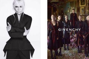 Дом Givenchy представил первые рекламные кадры с Донателлой Версаче
