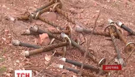 Возле Горловки боевики палят из тяжелых пулеметов и противотанковых управляемых ракет