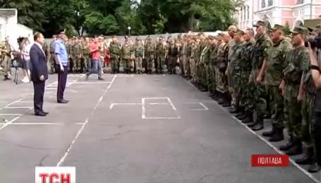 Полторы сотни полтавских правоохранителей отправились на Донбасс