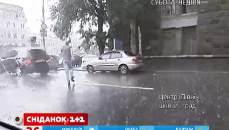 Выходные принесут в Украину значительное похолодание, ливни и шквальные ветры