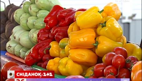 Болгарский перец в столице стоит в среднем 50 гривен за килограмм