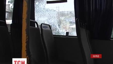 В Харькове ищут злоумышленников, которые обстреляли маршрутки