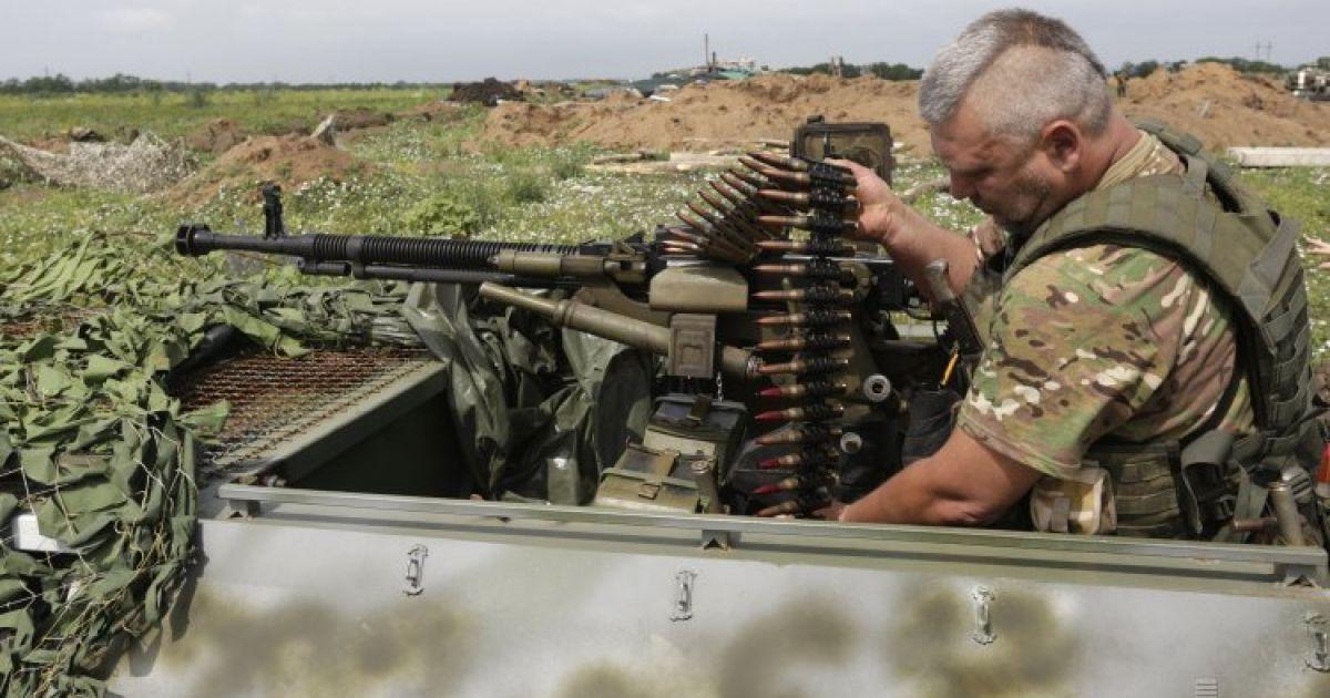 Боевики нарушили перемирие, но силы АТО находятся в состоянии боевой готовности