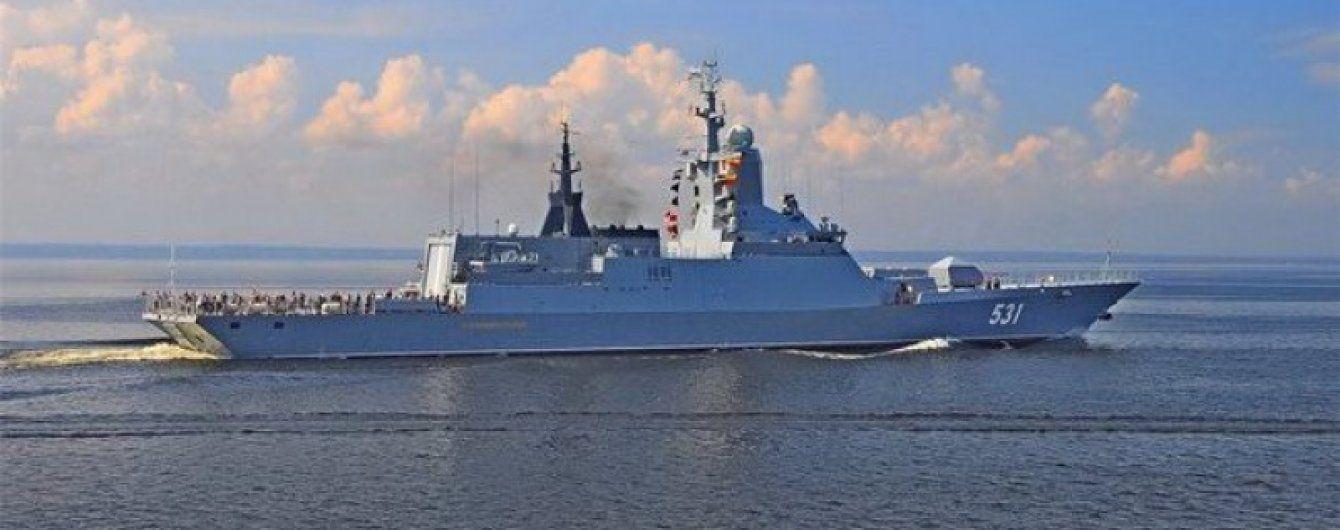 """Російські кораблі знову """"гуляють"""" біля кордонів Латвії"""