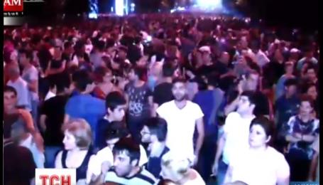 Поліція пообіцяла розігнати протестувальників у Єревані