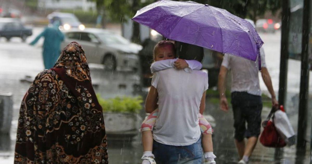 В Украине станет прохладнее на 10 градусов, пройдут дожди с грозами