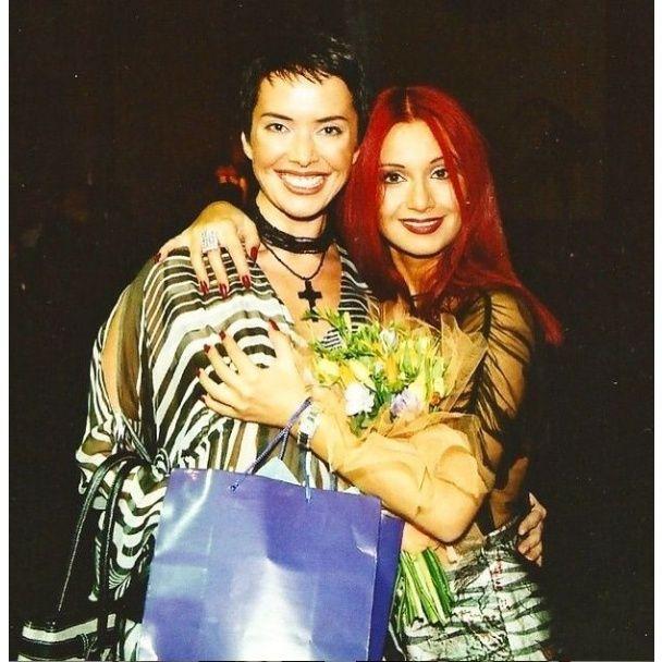 Ольга Орлова поділилася рідкісними старими фото з Жанною Фріске