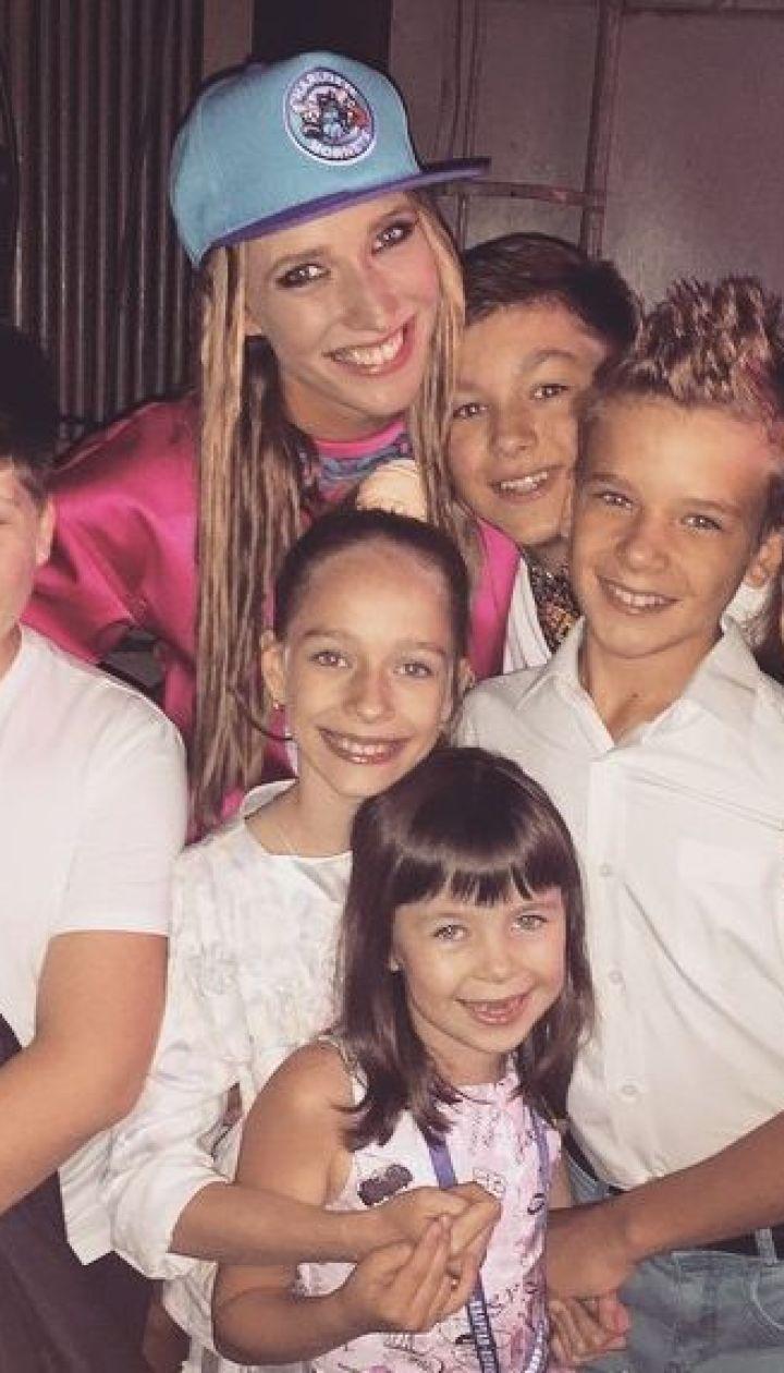 Катя Осадчая и дети @ Instagram