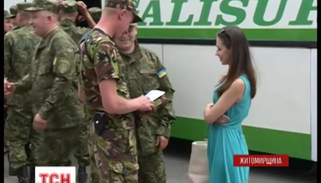 Более сотни правоохранителей из Житомирщины отправились в зону АТО