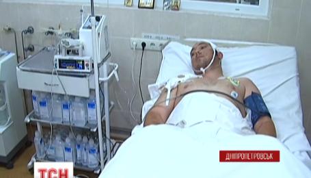 Десятеро важкопоранених бійців доправили до Дніпропетровської обласної лікарні протягом вихідних