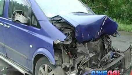 На Николаевщине водитель заснул за рулем