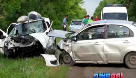 Масштабное ДТП на Луганщине стоило жизни виновнику аварии