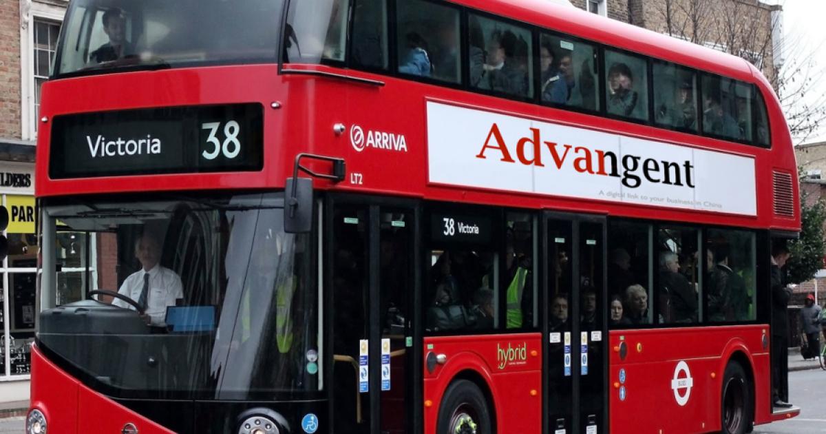 Лондонские двухэтажные автобусы переведут на электротягу