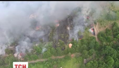 В Чернобыльской зоне произошло шесть пожаров