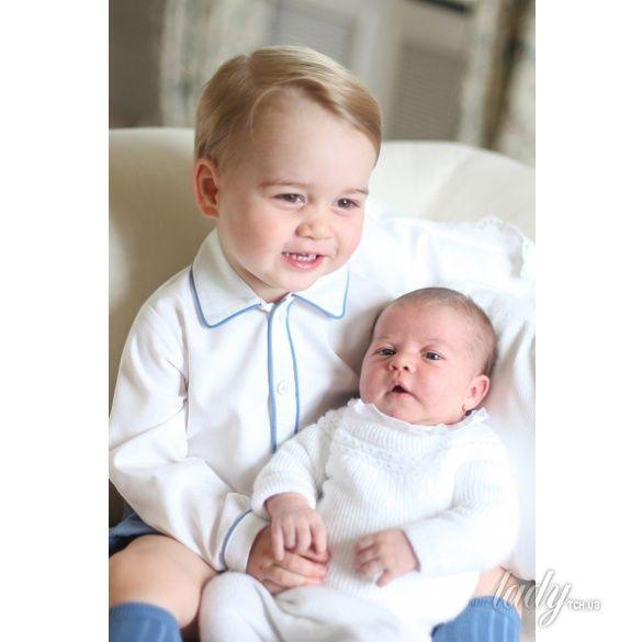 Принц Георг и принцесса Шарлотта _3