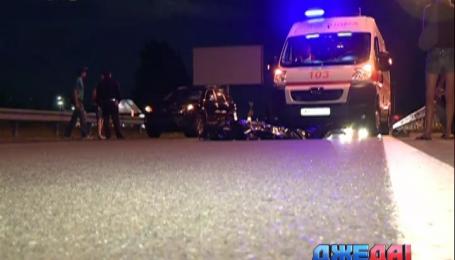 В Киеве произошло две смертельных аварии