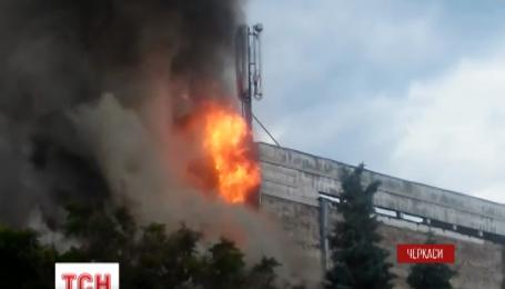 У Черкасах згорів єдиний міський театр