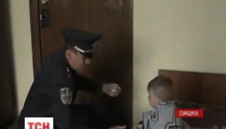 В Шостке неравнодушные люди помогли вернуть трехлетнего малыша к матери