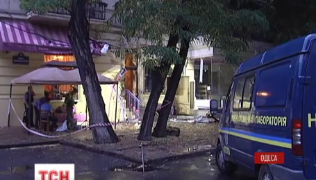 Нічний вибух в Одесі кваліфіковано як терористичний акт