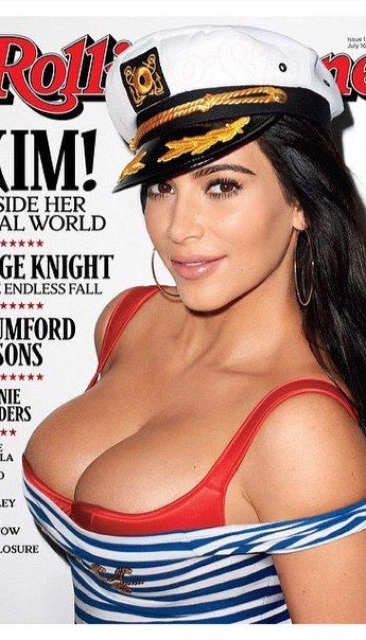 Ким Кардашьян на обложке Rolling Stone