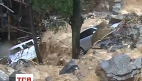Самый сильный за последние 60 лет дождь залил Китай