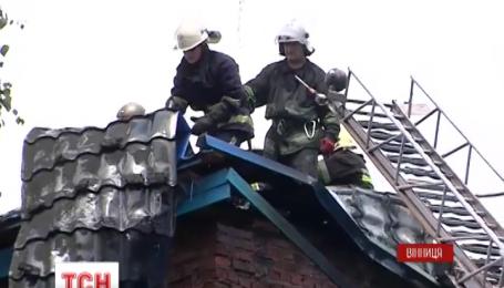 Из-за пожара эвакуировали полторы сотни пациентов Винницкой больницы скорой помощи