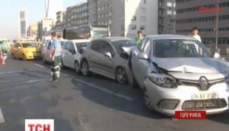 Чайка парализовала основную трассу Стамбул на полсуток