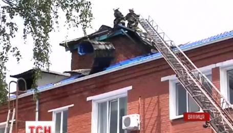 Полторы сотни пациентов Винницкой больницы скорой помощи эвакуировали из-за пожара