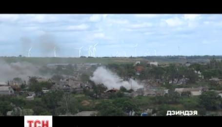 В Донецкой области под огонь противника попало село Рассадки