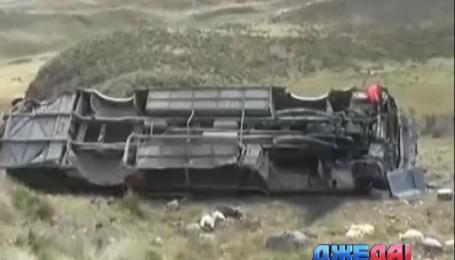В Перу в ДТП погибли по меньшей мере 20 человек