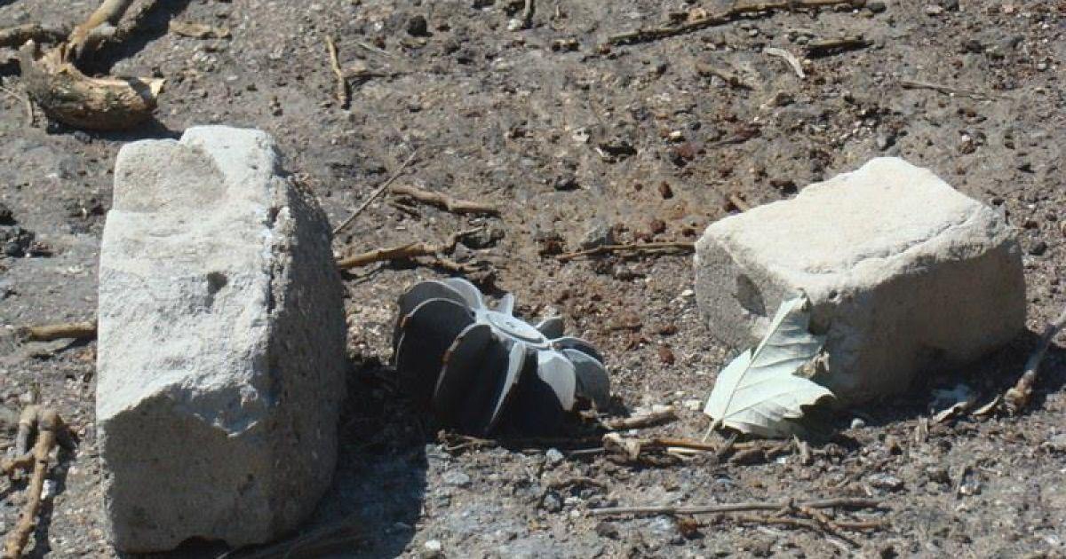 В Донецке в руках у детей разорвался снаряд