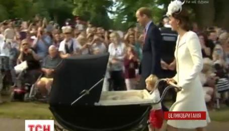 В Великобритании окрестили принцессу Шарлотту