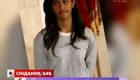 Дочка Барака Обами пішла працювати на телебачення