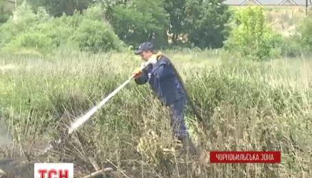 В Чернобыле продолжают тлеть торфяники