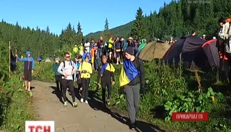У Карпатах пройшов марафон на висоті понад дві тисячі метрів