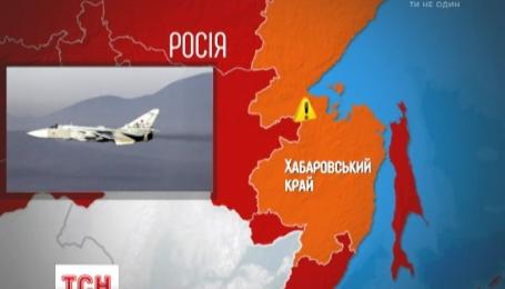 Самолет Су-24М разбился при взлете в Хабаровском крае