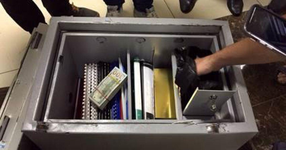 Взятки задержанных чиновников