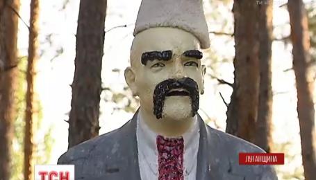 На Луганщине военные 80 аэромобильной бригады украинизировали Ленина