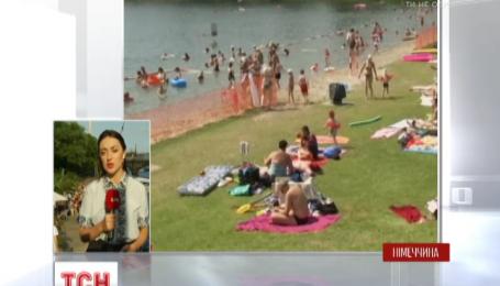 Німеччина побила власний температурний рекорд