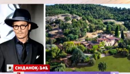 Джонні Депп продає свій французький маєток