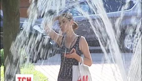 Украину охватила тропическая жара
