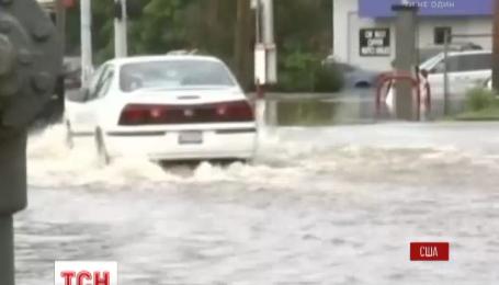 Потужні зливи підмочили США