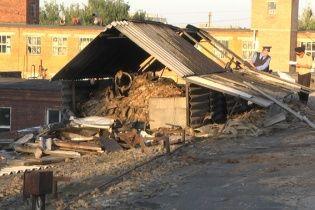 В Хмельницком горела кондитерская фабрика
