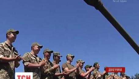 Запорожские артиллеристы отблагодарили волонтеров