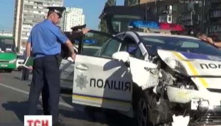 Київський патруль потрапив у дві ДТП за добу