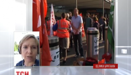 В Лондоне из-за забастовки на 24 часа остановилась подземка