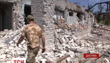 Бойцы 93 бригады держат оборону возле Донецкого аэропорта на шахте Бутовка