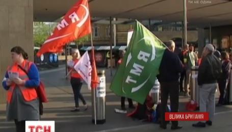 Работники лондонского метрополитена объявили двухдневную забастовку